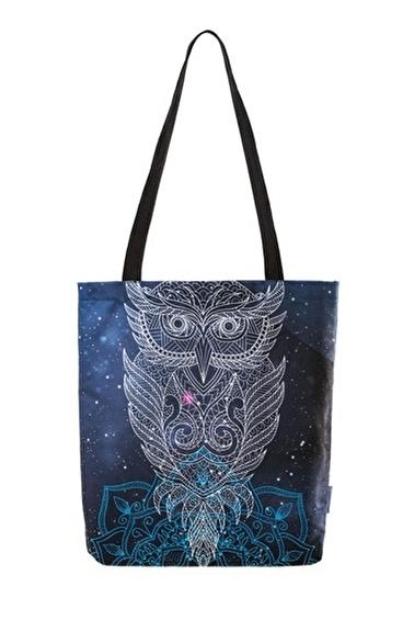home-bath Omuz Çantası Owl Renkli